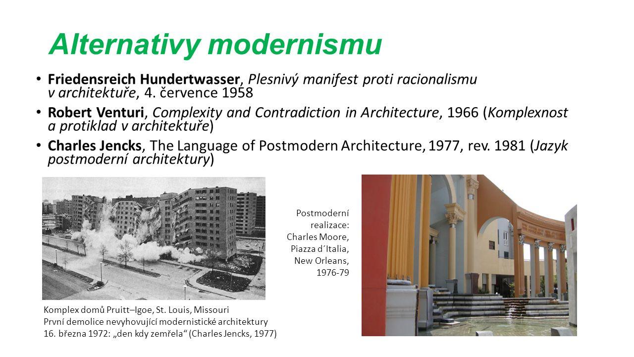 Alternativy modernismu Friedensreich Hundertwasser, Plesnivý manifest proti racionalismu v architektuře, 4.