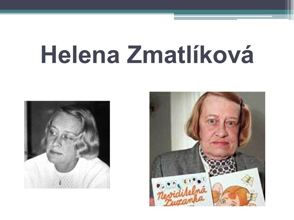 Helena Zmatlíková
