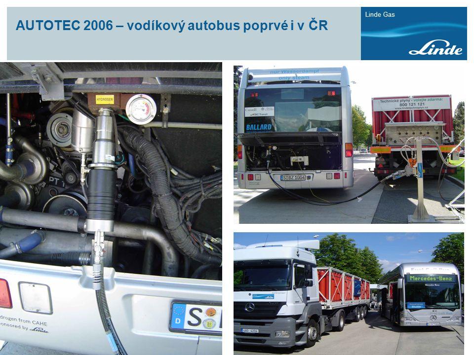 Linde Gas AUTOTEC 2006 – vodíkový autobus poprvé i v ČR