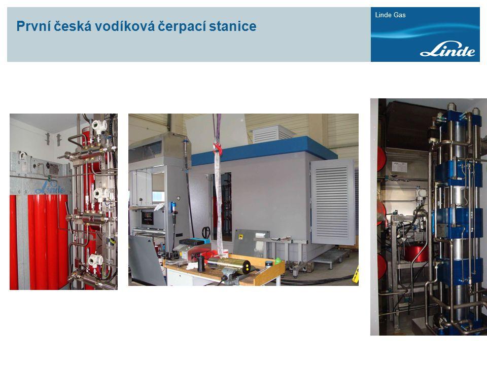 Linde Gas První česká vodíková čerpací stanice