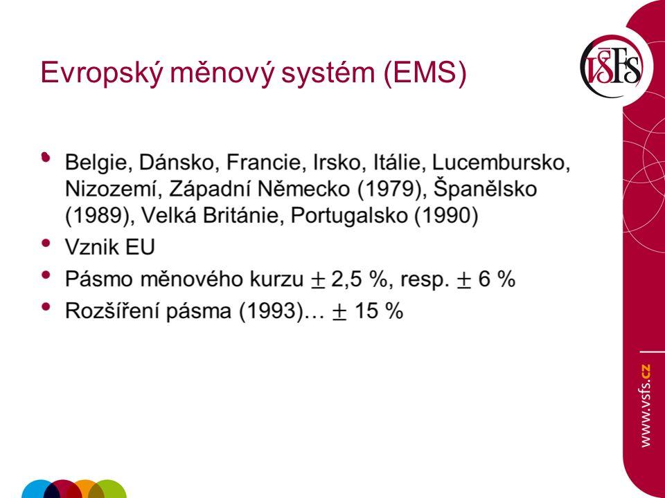 Evropský měnový systém (EMS)