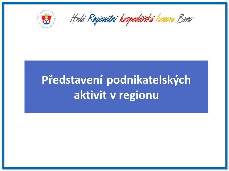 Představení podnikatelských aktivit v regionu