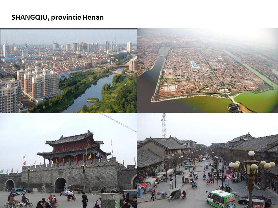 SHANGQIU, provincie Henan