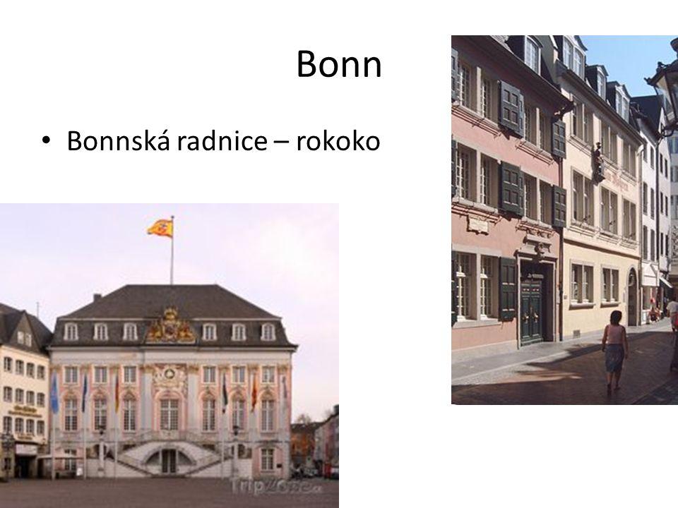 Bonn Bonnská radnice – rokoko