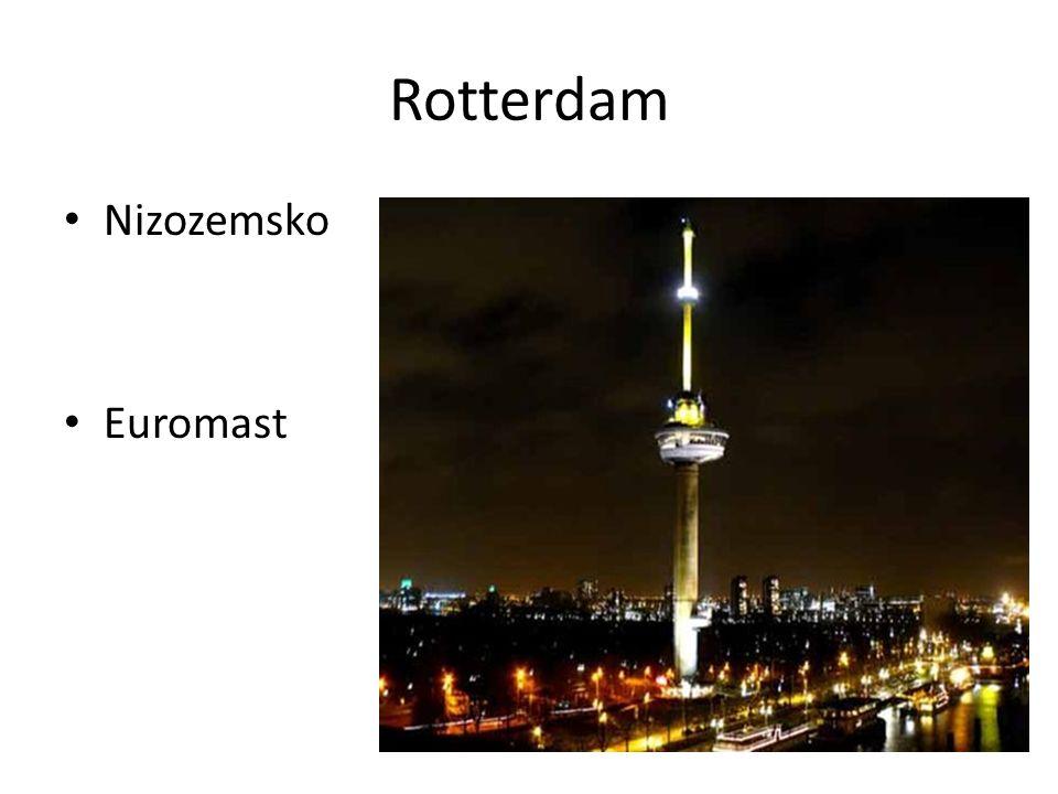 Rotterdam Nizozemsko Euromast