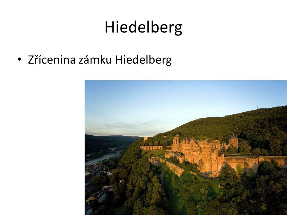 Hiedelberg Zřícenina zámku Hiedelberg