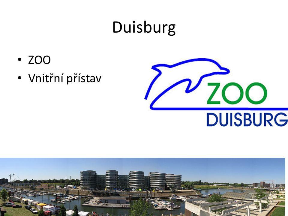 Duisburg ZOO Vnitřní přístav