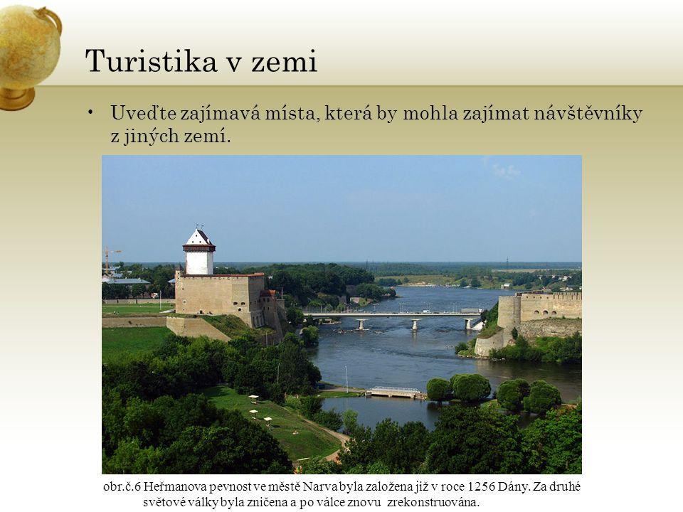Zajímavost estonština patří mezi ugrofinské jazyky většina obyvatel je bez vyznání obr.č.7 Momentka z 18.