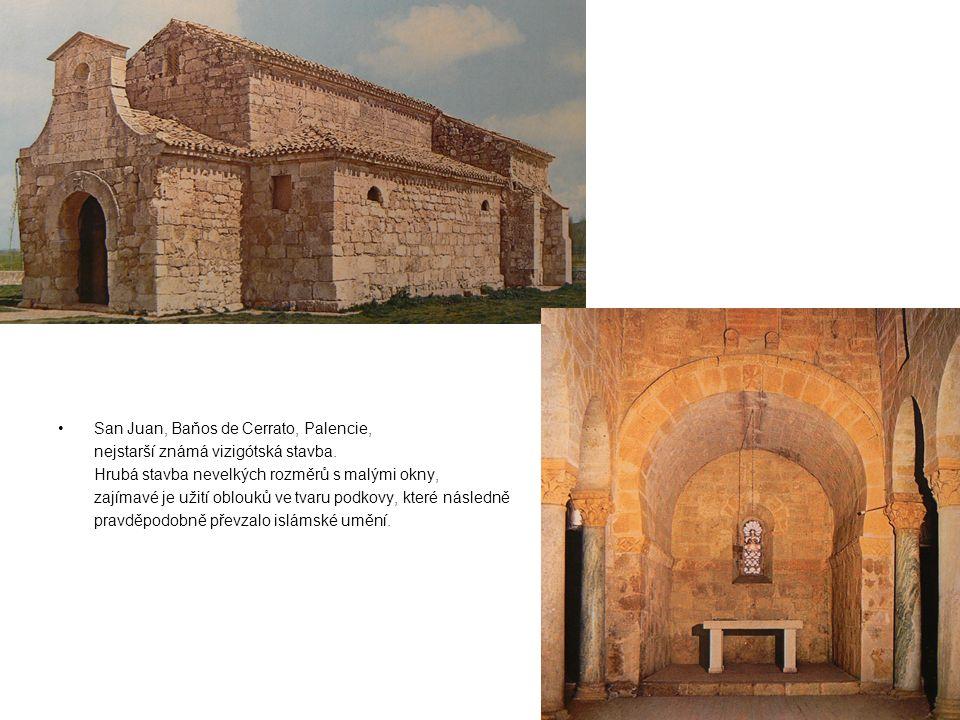 San Juan, Baňos de Cerrato, Palencie, nejstarší známá vizigótská stavba.