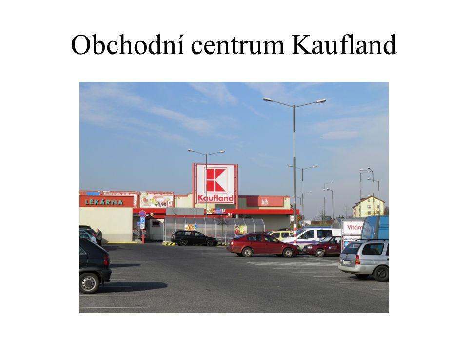 Obchodní centrum Kaufland