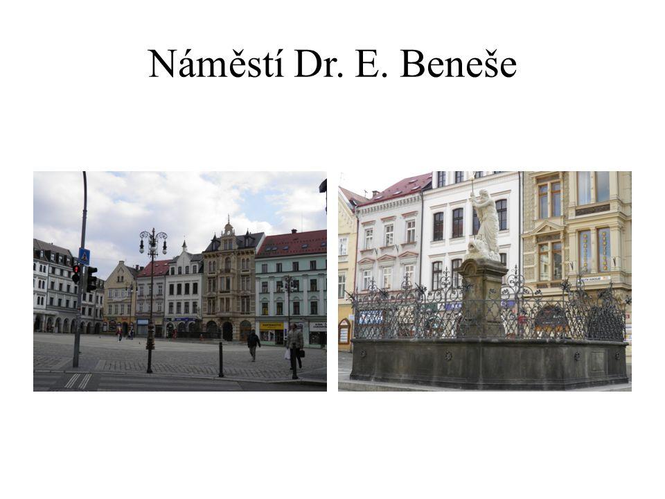 Náměstí Dr. E. Beneše