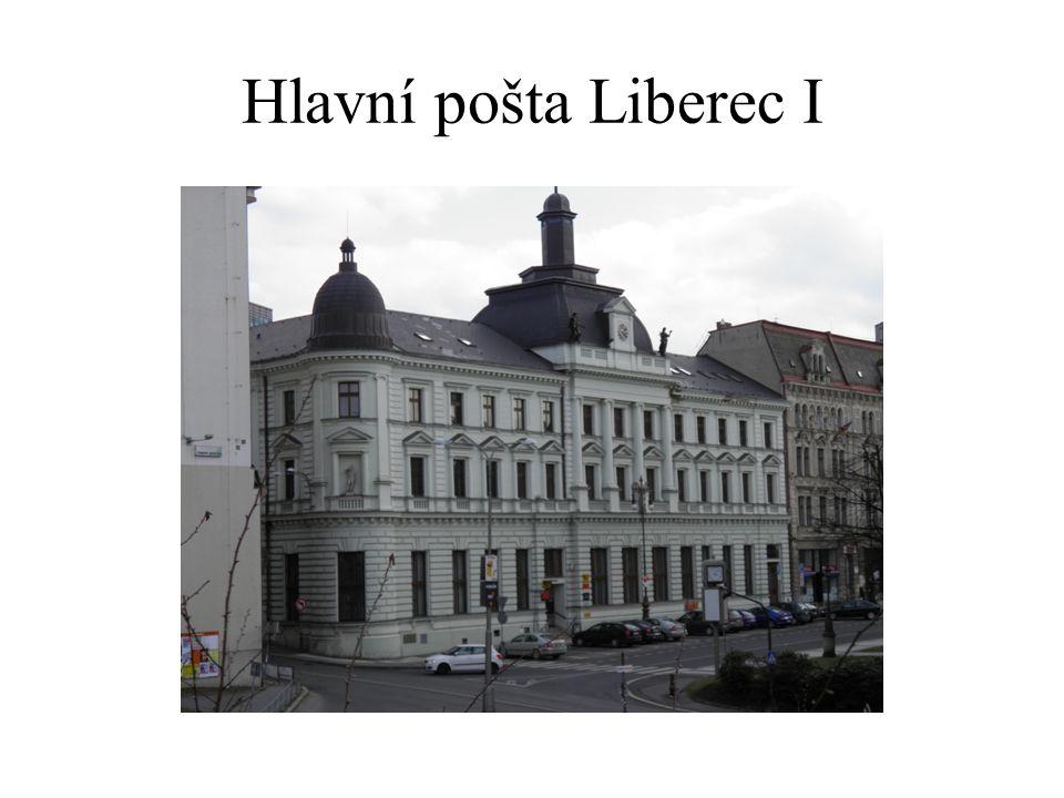 Hlavní pošta Liberec I