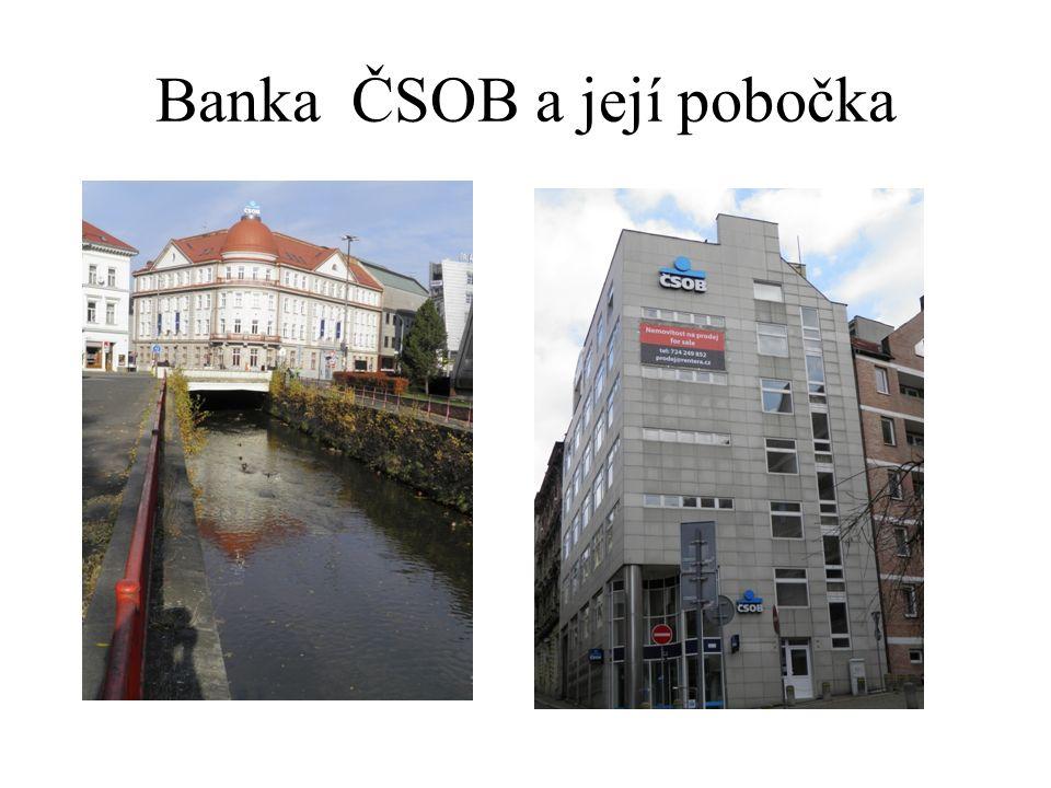 Banka ČSOB a její pobočka