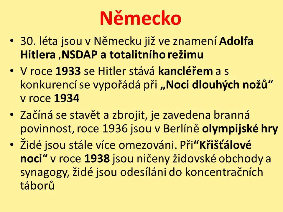Německo 30.