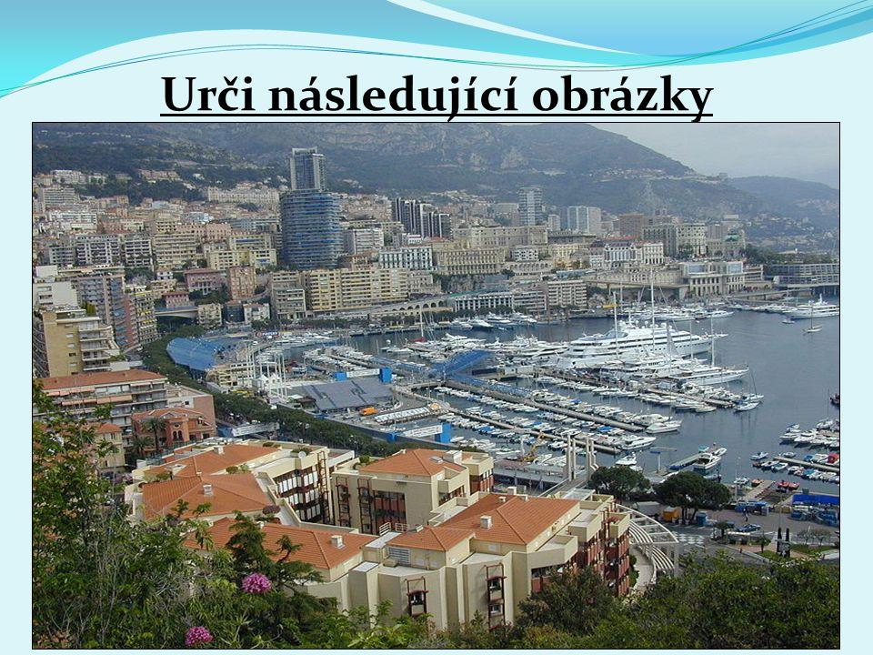 Urči následující obrázky Španělsko MonakoVatikán Itálie 1.2. 3.4.