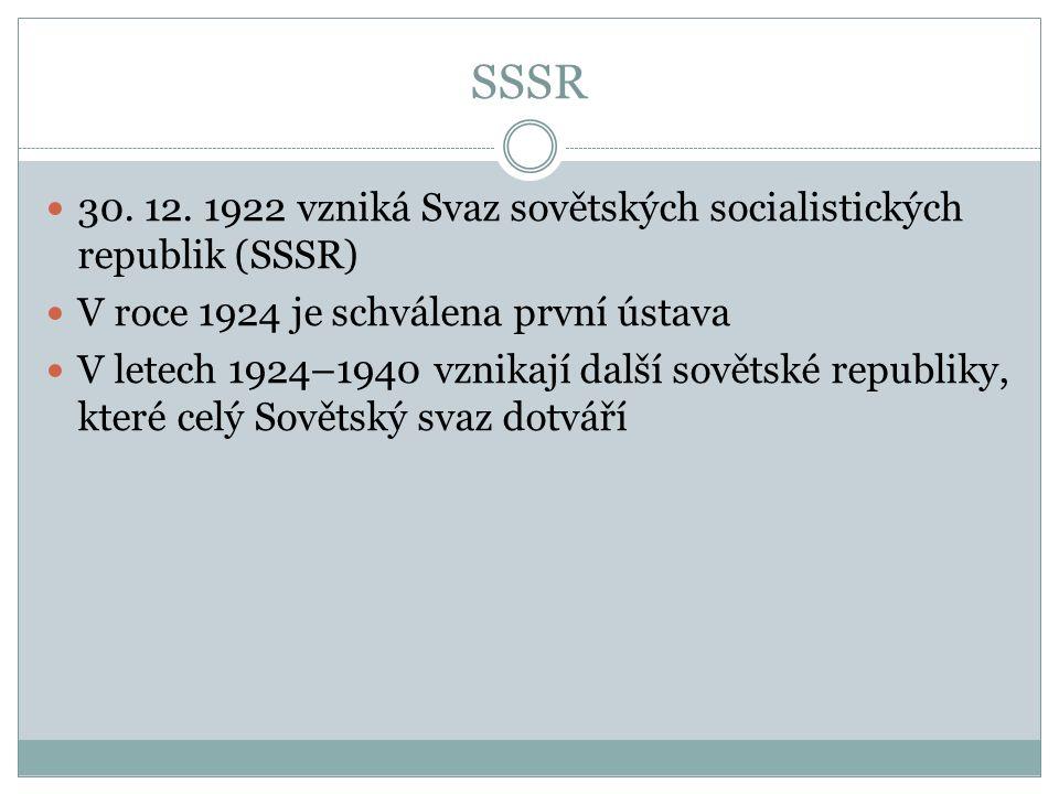 SSSR 30. 12.