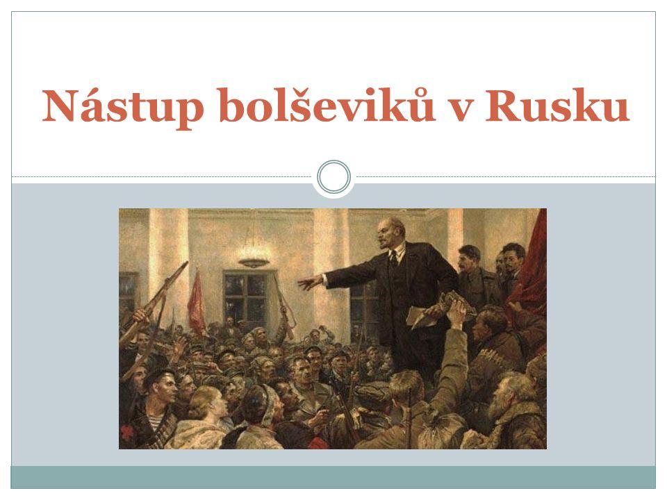 Nástup bolševiků v Rusku