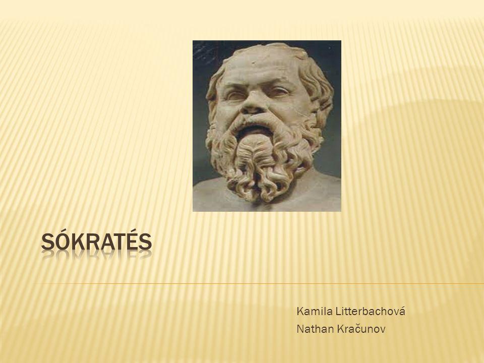 """ Sókratés byl přesvědčen, že lidé chybují hlavně proto, že nedovedou správně užívat svůj rozum a že jednají podle svých domněnek, místo aby se snažili skutečně poznávat  Proto se rád pouštěl do rozhovorů  Větu """"Vím, že nic nevím , Sókratés patrně neřekl, pocházející nejspíše z příliš odvážné interpretace Platónových dialogů  Pro vnitřní hlas, který ho varoval, co není správné, užíval Sókratés pojem """"daimonion"""