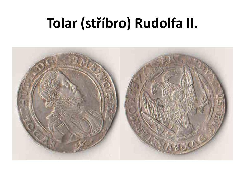 Tolar (stříbro) Rudolfa II.
