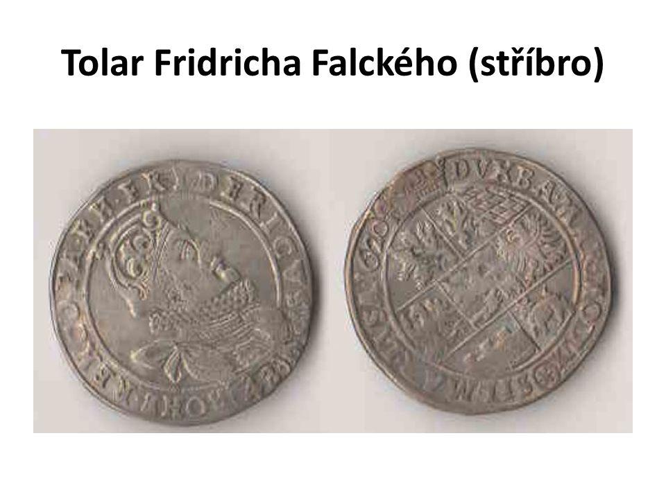 Tolar Fridricha Falckého (stříbro)