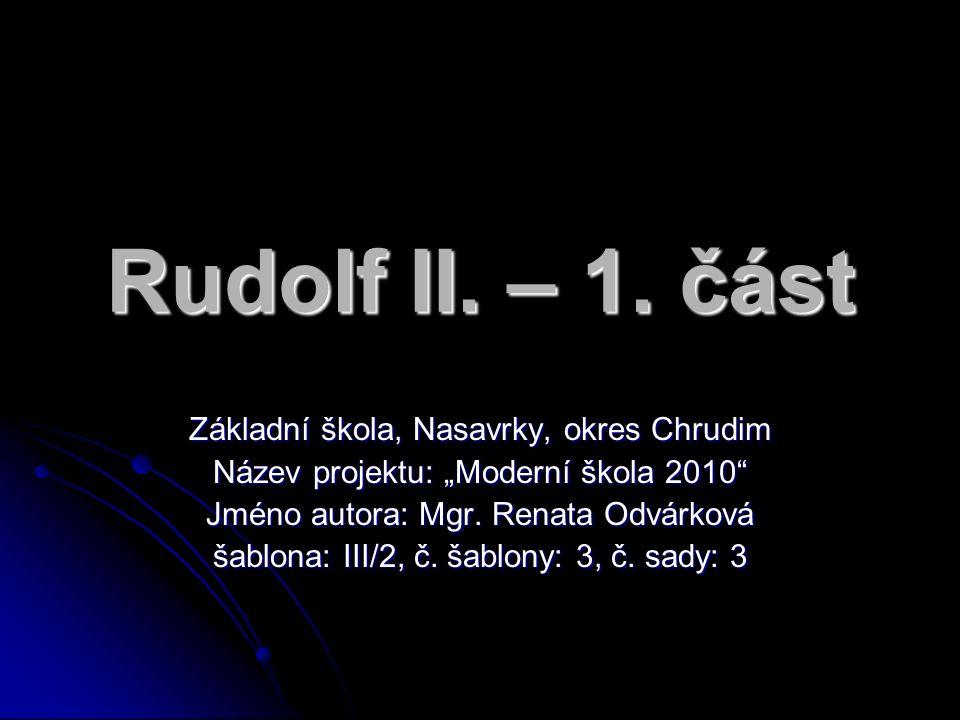 Rudolf II. – 1.