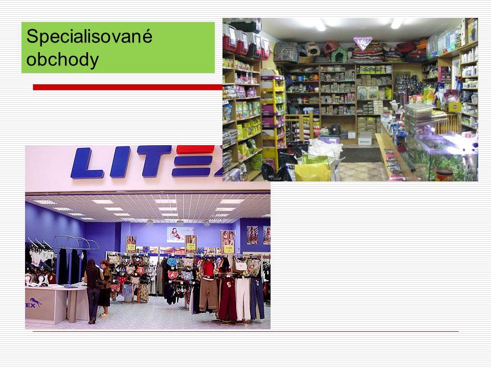 Specialisované obchody