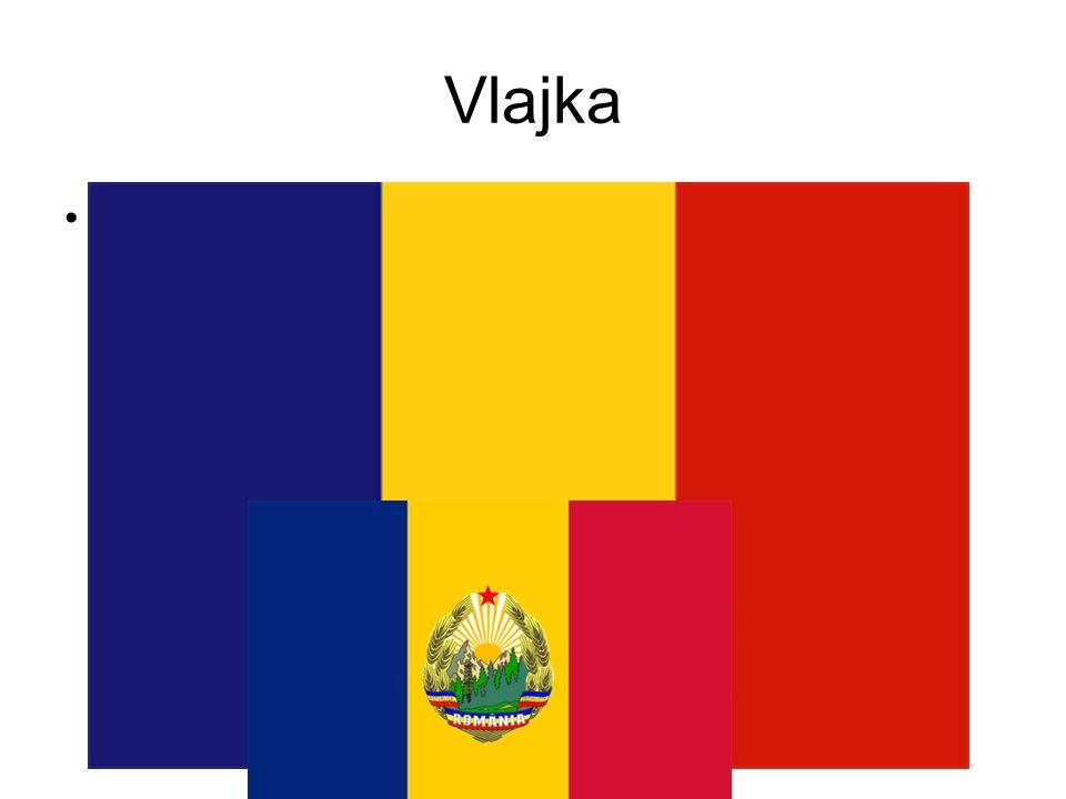 Vlajka Rumunská vlajka byla přijata v roce 1866 a využívá barev historických zemí, které se v roce 1892 začlenili do státu jménem Rumunsko.