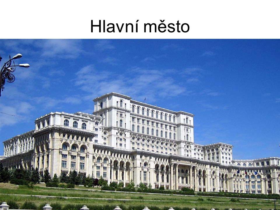 Hlavní město Bukurešť Leží na J země na řece Dambovita.