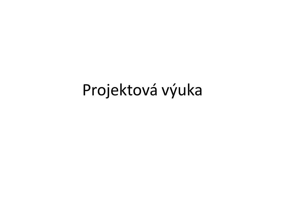 Historie projektové výuky První známky – 17.a 18.