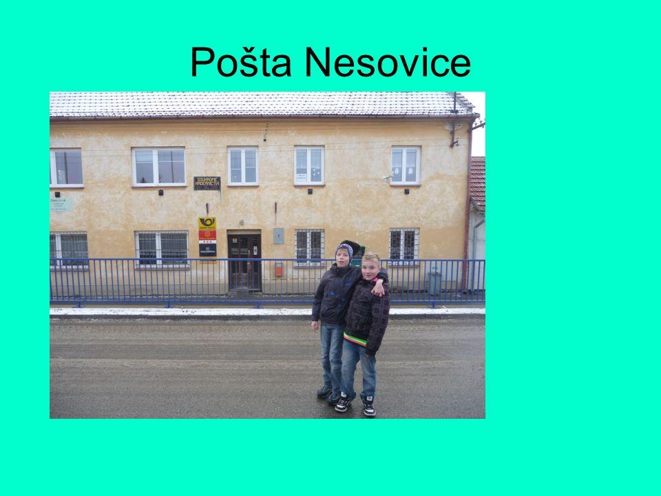 Pošta Nesovice