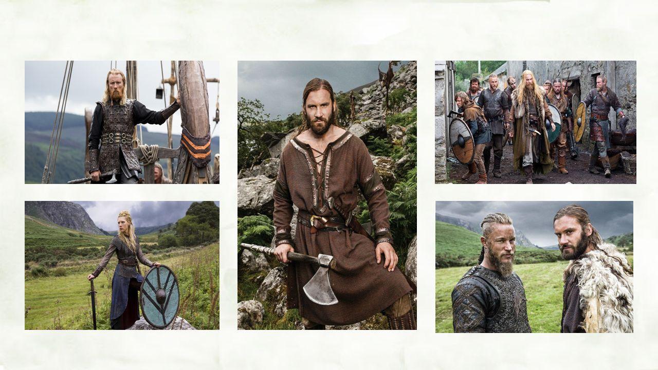 Vikingové, to byli především válečníci, proto kromě typického oblečení vlastnil každý muž i žena štít a meč.