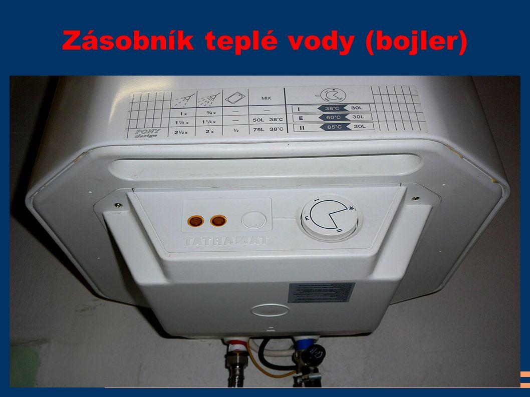Zásobník teplé vody (bojler)