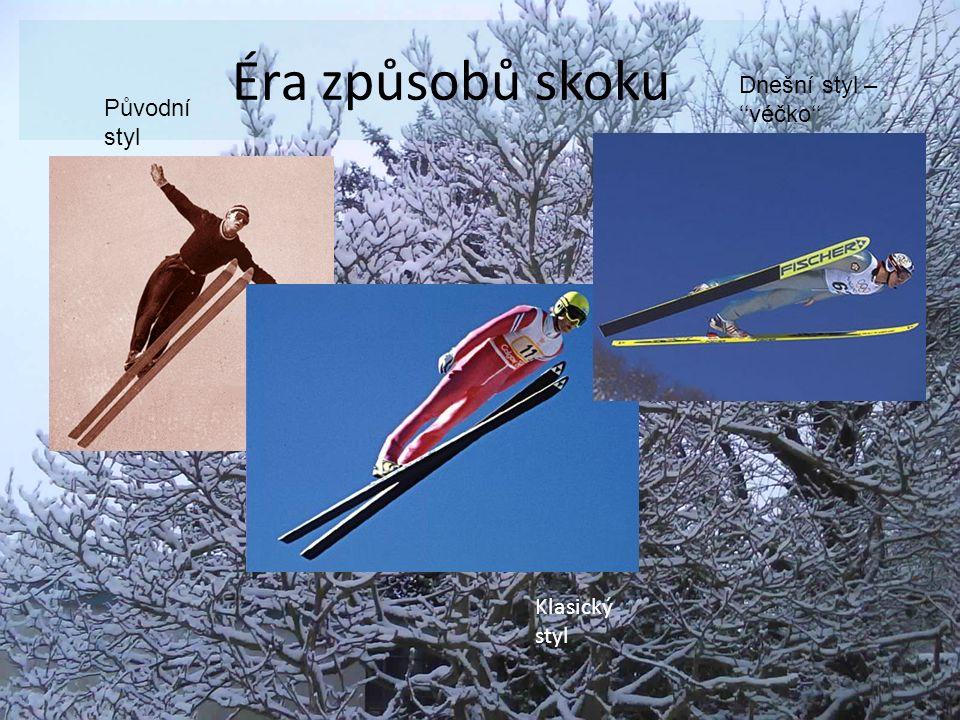 Hodnocení Cílem skoku na lyžích je skočit co nejdelší skok, ale na technice také záleží.