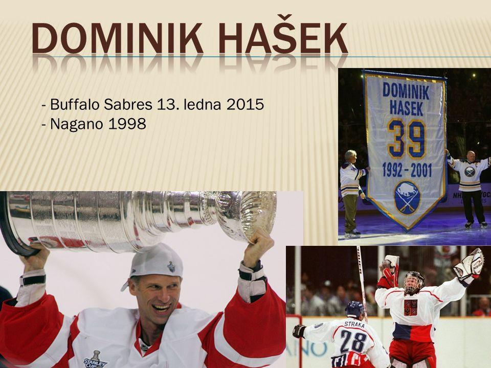 - Buffalo Sabres 13. ledna 2015 - Nagano 1998