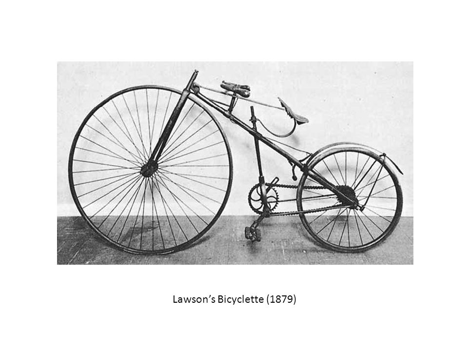 Lawson's Bicyclette (1879)