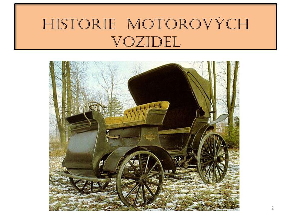 HISTORIE MOTOROVÝCH VOZIDEL 2