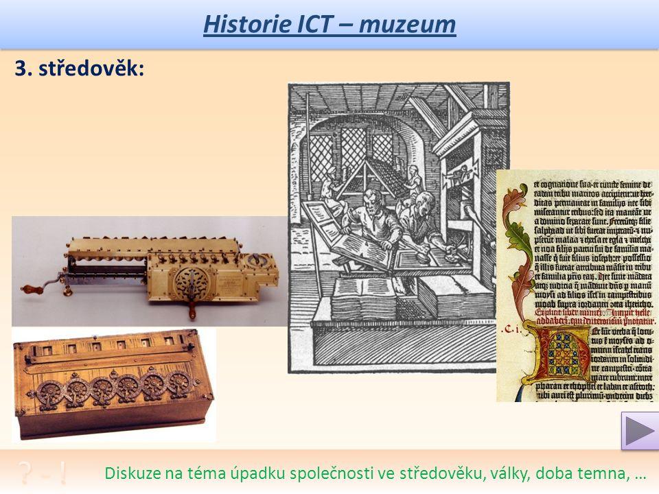 Historie ICT – muzeum 2.