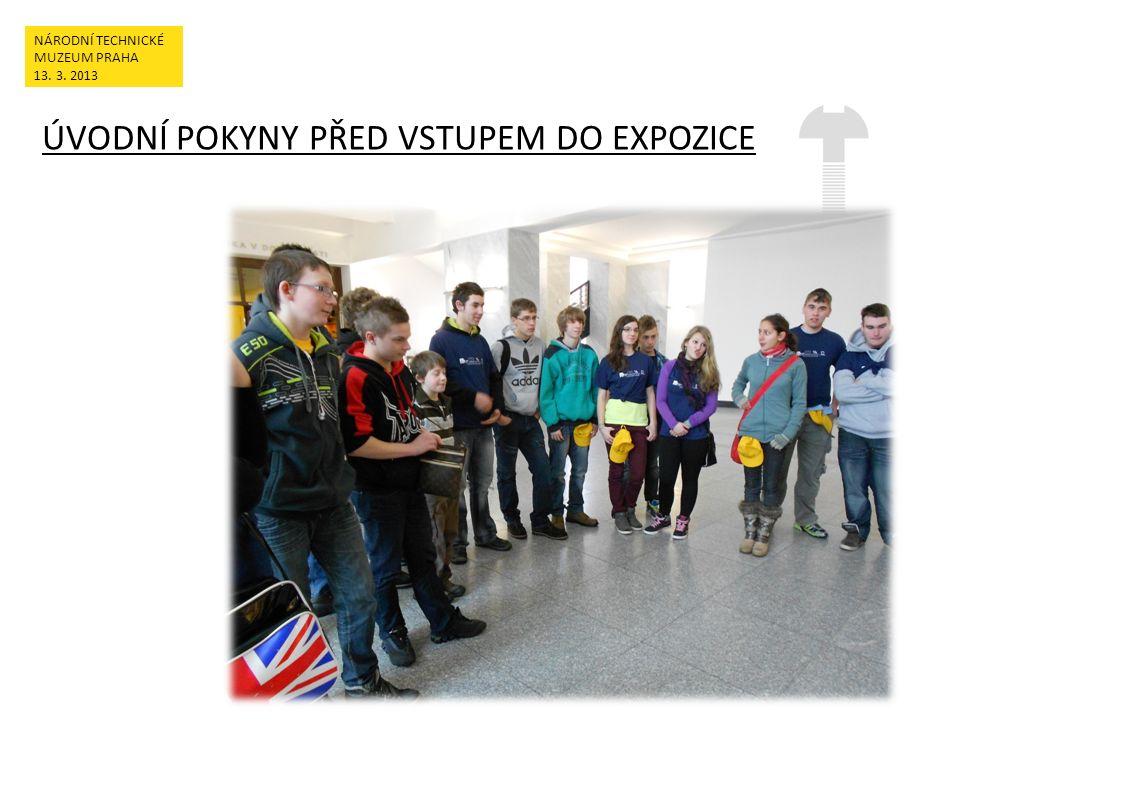 PRÁCE V TISKAŘSKÉ DÍLNĚ NÁRODNÍ TECHNICKÉ MUZEUM PRAHA 13. 3. 2013