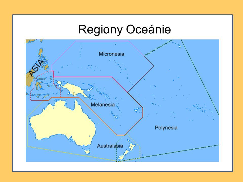 Regiony Oceánie