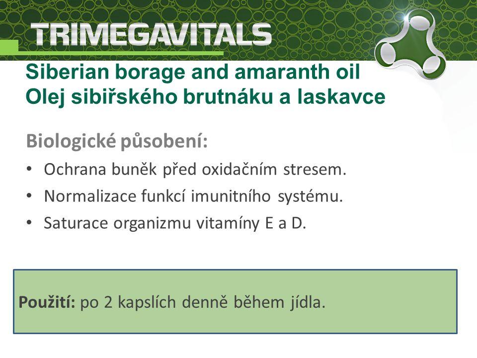 Biologické působení: Ochrana buněk před oxidačním stresem.