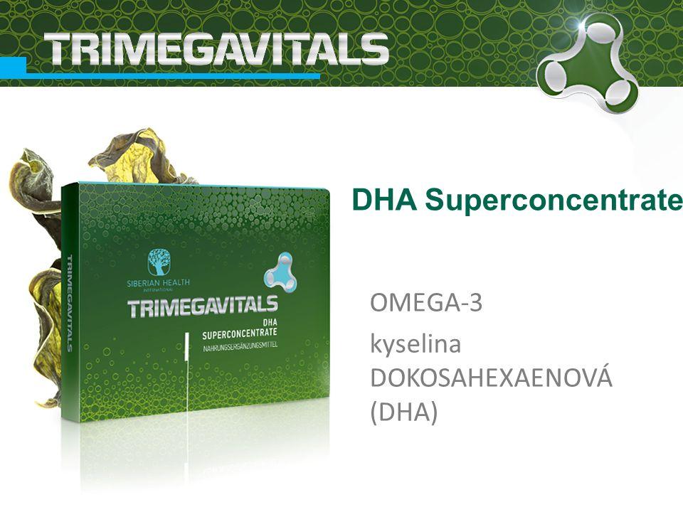 OMEGA-3 kyselina DOKOSAHEXAENOVÁ (DHA) DHA Superconcentrate