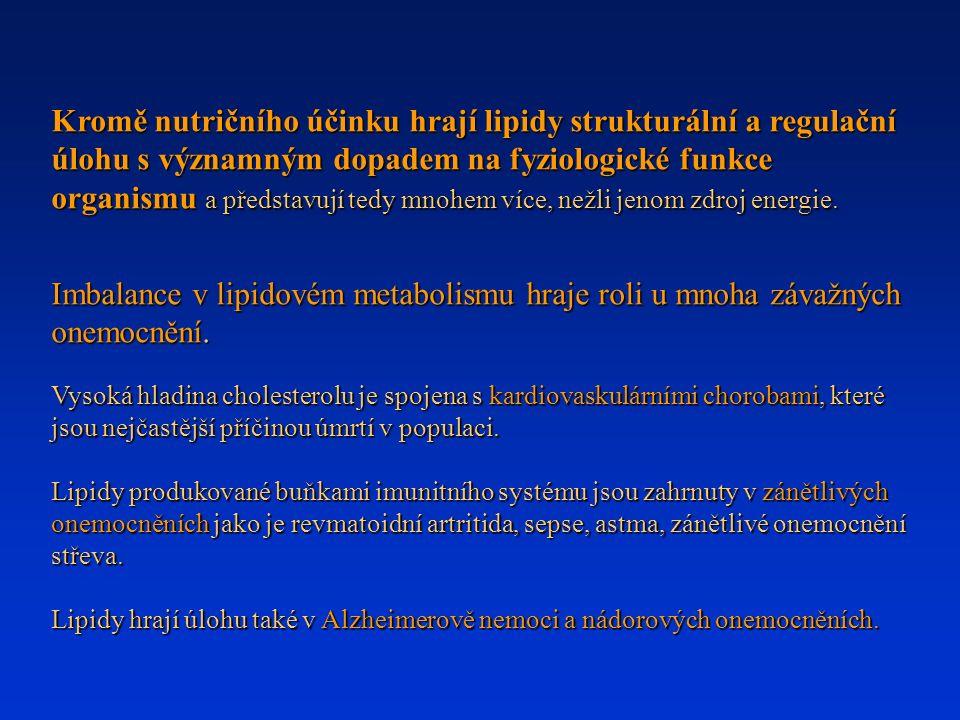 LIPIDY (lipos, tuk) Látky biologického původu rozpustné v org.