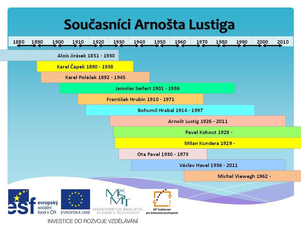 Současníci Arnošta Lustiga