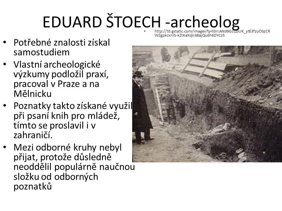 EDUARD ŠTORCH - PEDAGOG Dětem zasvětil celý svůj život jako učitel Propagoval internátní školy, kde probíhá výuka většinou v přírodě.