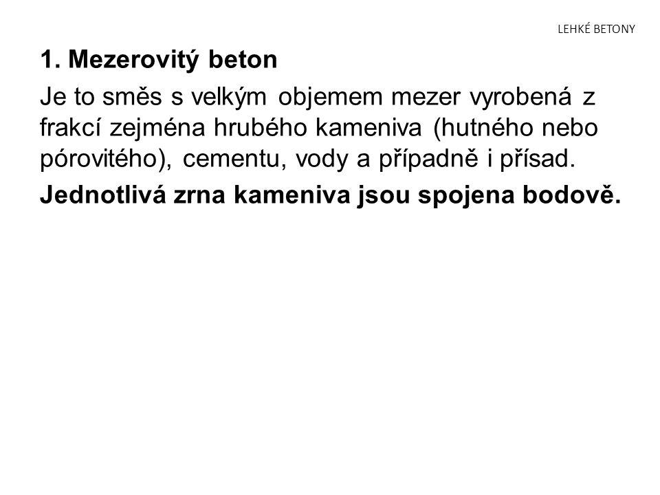 LEHKÉ BETONY 1.