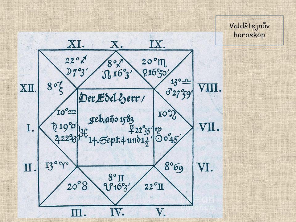 Valdštejnův horoskop