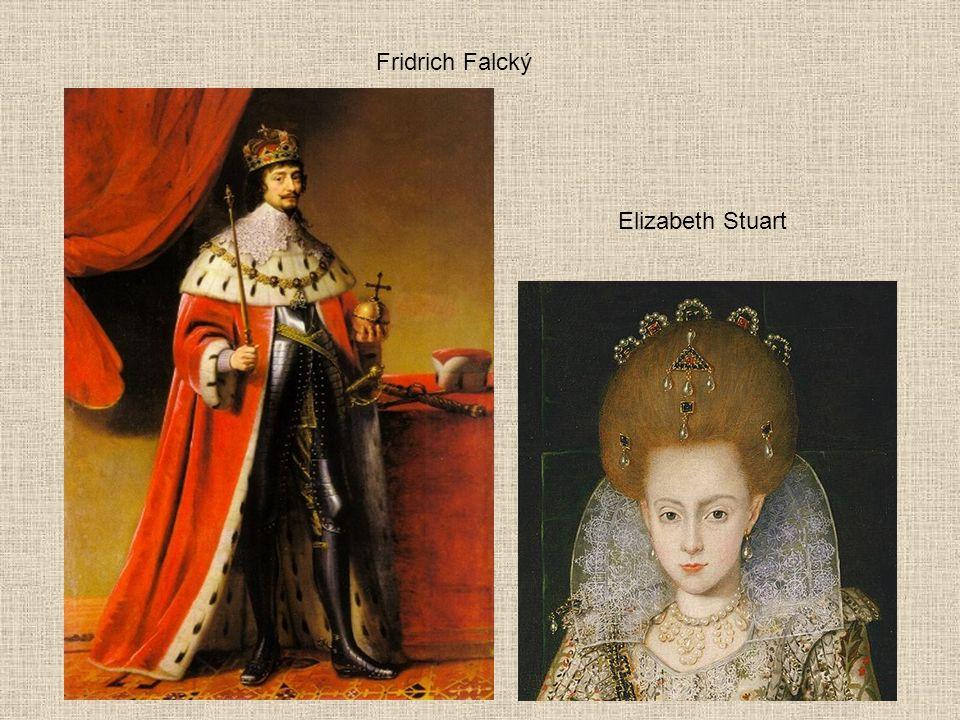 Fridrich Falcký Elizabeth Stuart