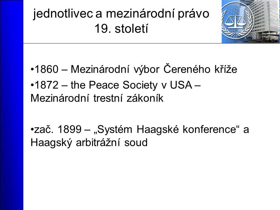 jednotlivec a mezinárodní právo 19.