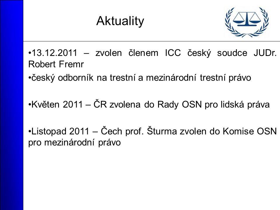 Aktuality 13.12.2011 – zvolen členem ICC český soudce JUDr.