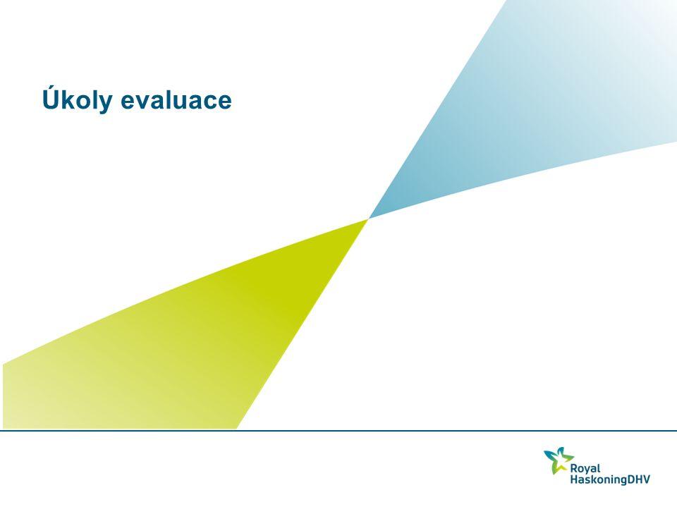 Úkoly evaluace